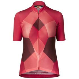 Mavic Sequence Pro maglietta a maniche corte Donna rosa/rosso